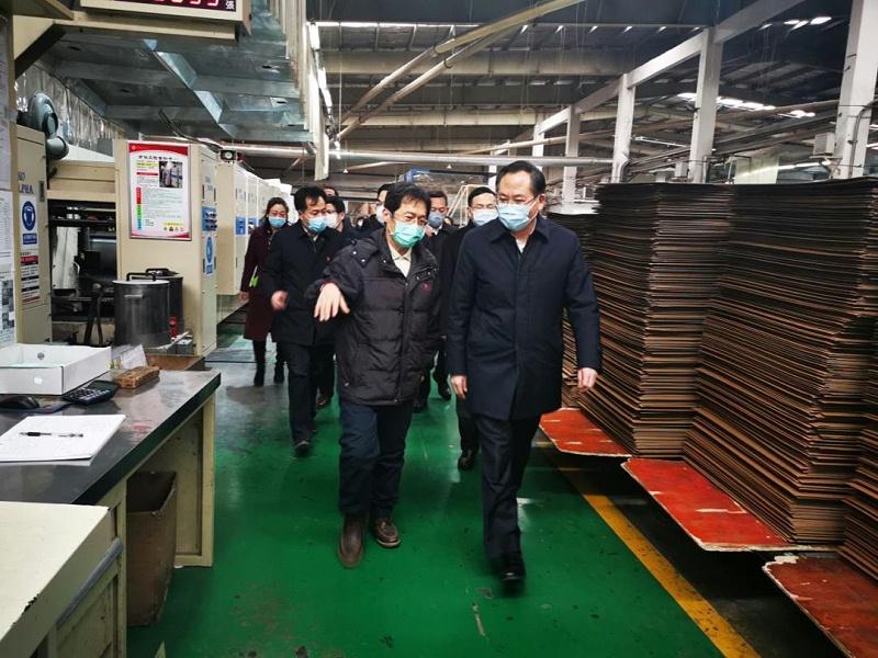 市委常委、统战部部长王久军到城阳区调研台资企业复工复产情况