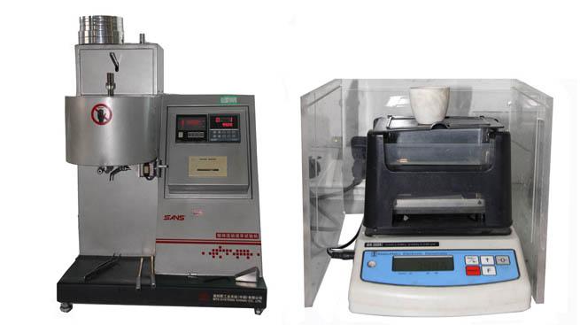 熔体流动速率试验机、密度仪