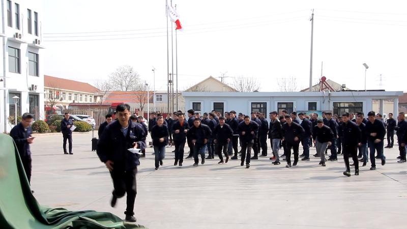 2019年中新华美第一季度安全教育会议暨消防应急演练