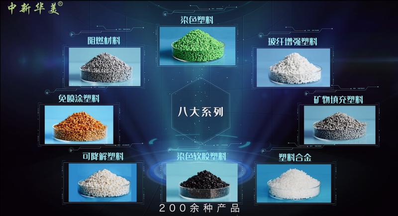 八大系列塑料颗粒--中新华美改性塑料