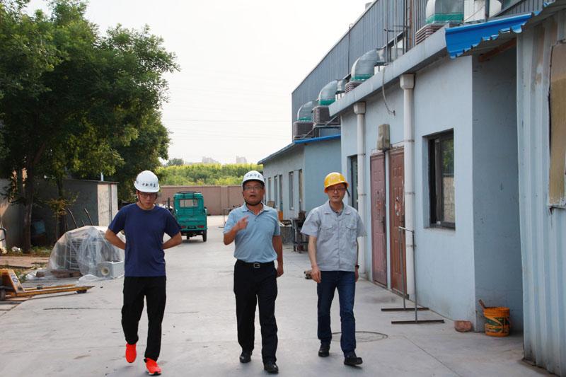 漳州奇美化工有限公司苏耀宗总经理一行莅临我司指导工作