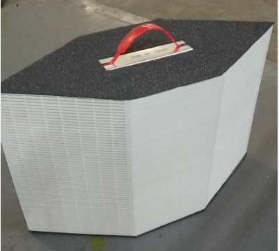 为什么中央空调冷热空气交换器选择ABS材料?