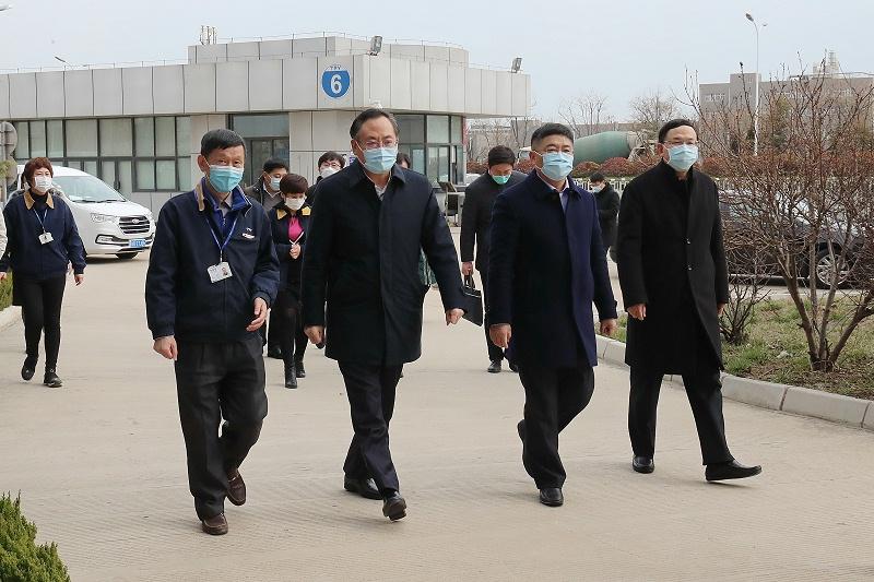 青岛市走访复工复产台资企业--青岛中新华美塑料有限公司