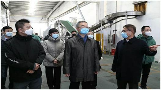 王清宪到台资企业青岛顶津食品有限公司走访调研