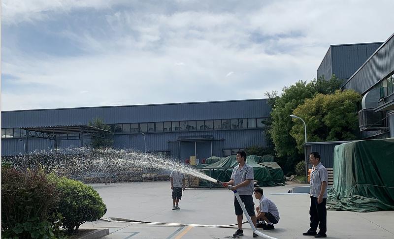 消防演习--中新华美改性塑料