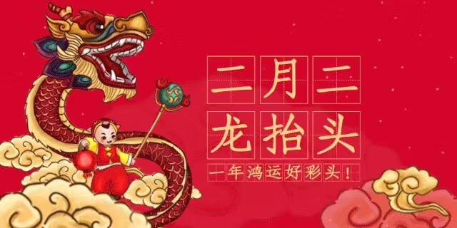 中新华美改性塑料:二月二,龙抬头,愿安康!