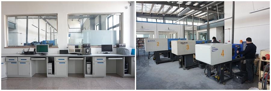 电脑配色系统及色板生产车间