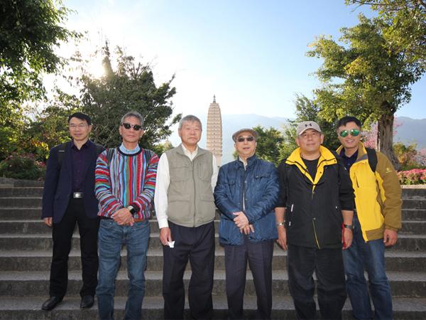 2017年12月初青岛中新华美塑料有限公司股东会在云南召开