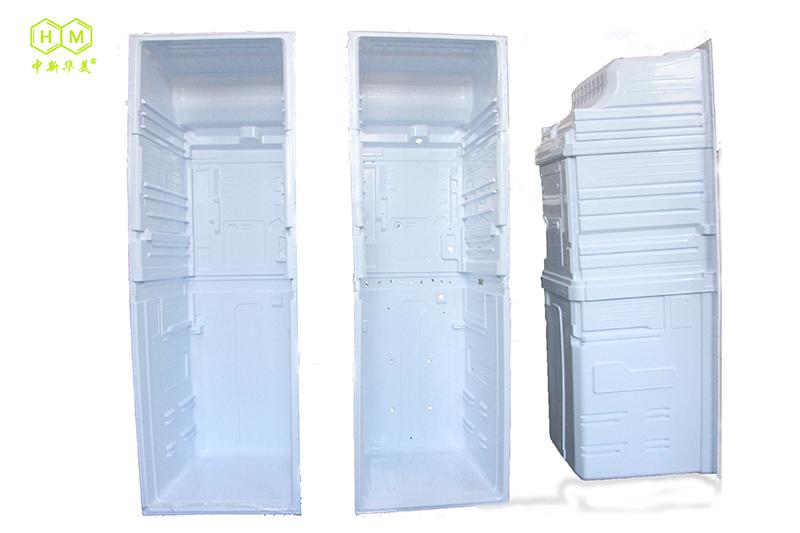 客户用我司冰箱内胆材料吸塑成的冰箱内胆