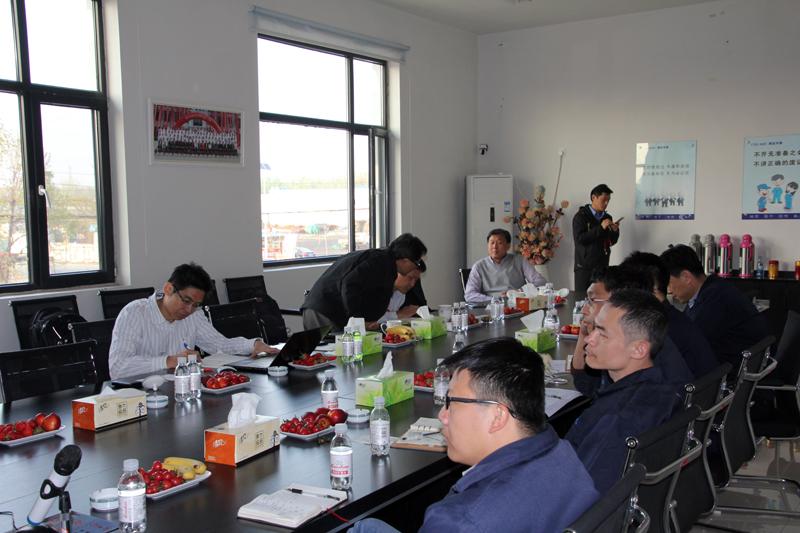 台湾奇美研发总处薛东弼副总经理带队到我司对改性产品调研及技术指导