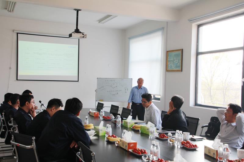 奇美研发总处薛东弼副总经理带队到我司对改性塑料产品调研及技术指导