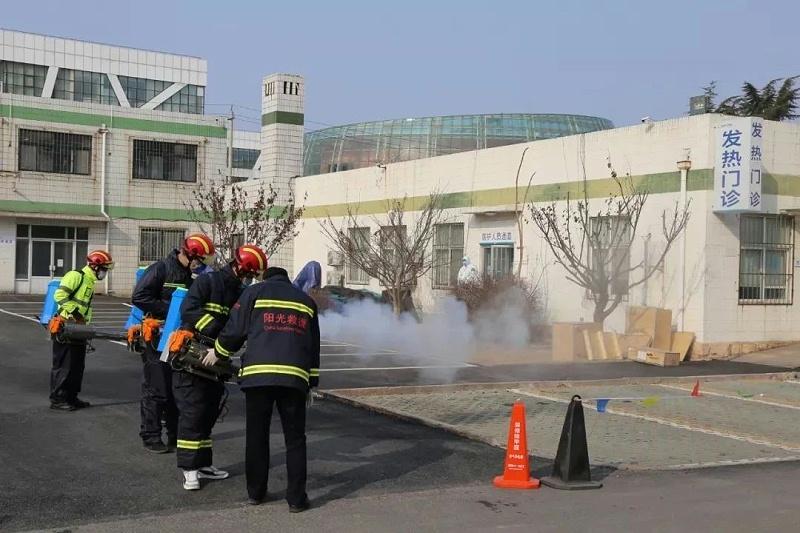 城阳人民医院:抗疫征程,我们携手