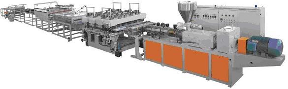 挤出成型技术在改性塑料加工中的地位与作用
