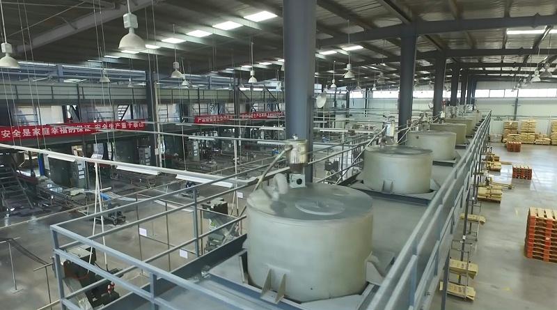 生产车间--青岛中新华美塑料有限公司
