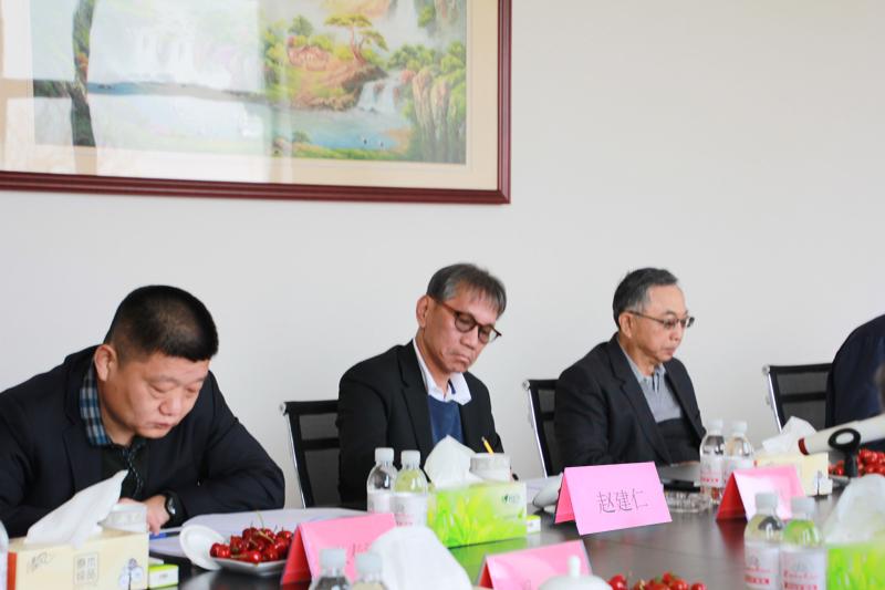 2019年4月12日青岛中新华美塑料有限公司六届三次董事会在公司召开