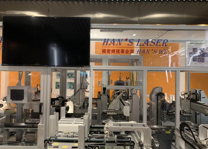 2019年5月22日中新华美总经理王东先生参观大族激光公司