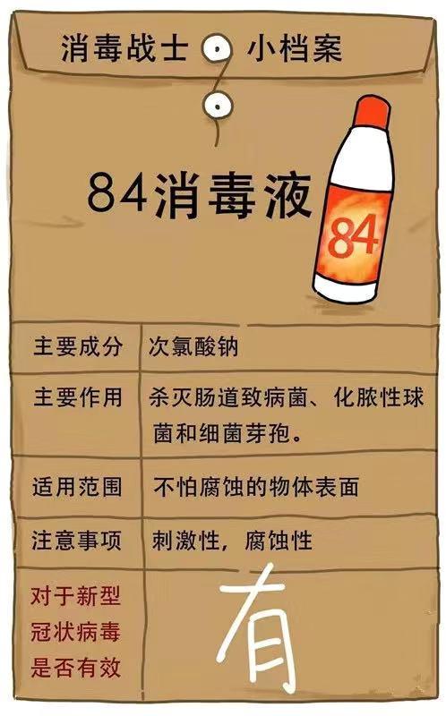 84消毒液使用方法--中新华美改性塑料