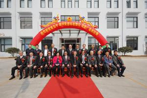 2015年3月份下旬奇美集团董事长许春华先生参加公司新厂房落成典礼