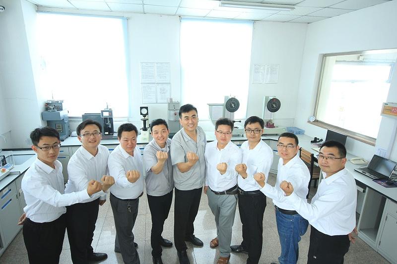青岛中新华美改性塑料技术支持团队