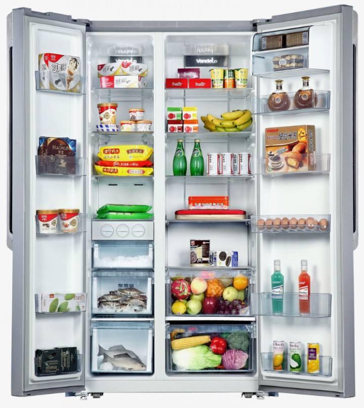 美的冰箱236升电路图