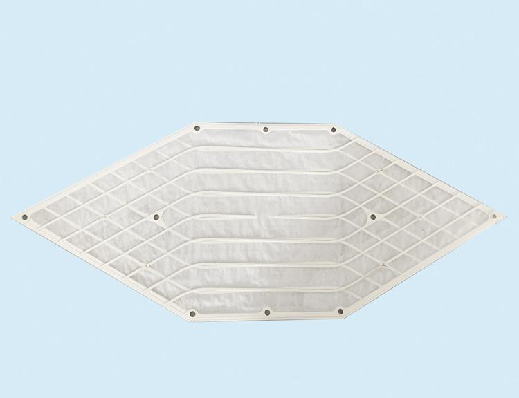 青岛中新华美高性能ABS材料做成的热交换芯体框架
